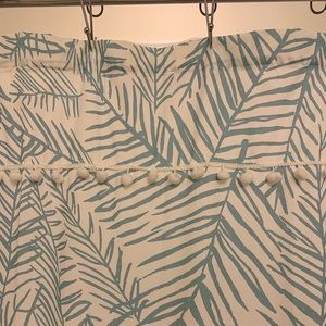Target Shower Curtain - Cute Teal Pattern!!